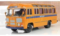 ПАЗ 672 М Милиция автобус СССР Советский автобус 1:43 6900078110004