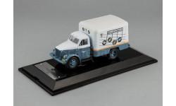 Газ 51 Фургон КИ-51 'Пластинки' 1953 СССР Dip 1:43 105171, масштабная модель, scale43, DiP Models