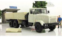 КрАЗ 250 (1985-95), бежево-белый 1985 СССР НАП Наш Автопром 1:43 H205b, масштабная модель, 1/43
