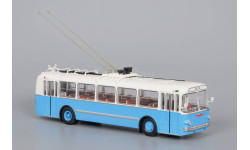 троллейбус Зиу 5 Бело-голубой 1959 СССР ClassicBus 1 43, масштабная модель, scale43