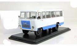 автобус Кубань Г1А1 02 бело синий 1989 СССР SSM 1:43 SSM4008, масштабная модель, Start Scale Models (SSM), scale43