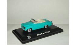 Skoda (Шкода) Felicia 1964 Кабриолет Голубая Abrex 1:43, масштабная модель, 1/43, Škoda