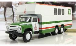 Зил 133 Г1 Перевозка лошадей СССР IXO Автомобиль на службе 1:43, масштабная модель, scale43, Автомобиль на службе, журнал от Deagostini