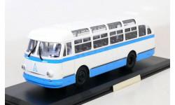 Автобус Лаз 695 Е 1961 синий / белый СССР ClassicBus 1:43 Ранний, масштабная модель, 1/43