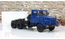 КрАЗ 6444 (1985-94), седельный тягач, синий СССР НАП Наш Автопром 1:43 H780b, масштабная модель, 1/43