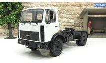 Маз 5433 (1991-1997) седельный тягач, белый СССР НАП Наш Автопром 1:43, масштабная модель, scale43