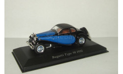 Бугатти Bugatti Type 50 1932 Altaya 1:43