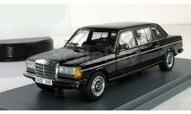 Мерседес Бенц Mercedes Benz W123 V123 Lang Лимузин Черный 1978 Neo 1:43 NEO44245, масштабная модель, scale43, Neo Scale Models, Mercedes-Benz