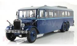 Автобус городской Я ЯГ ЯА 2 'Гигант' (1932 г.) Синий СССР Ultra 1:43 UM43-A4-1