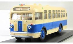 автобус Зис 155 1949 Ранний бежевый/синий ClassicBus 1:43, масштабная модель, 1/43