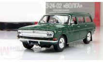 Газ 2402 Волга Универсал 1974 IST IXO Автолегенды СССР 1:43, масштабная модель, scale43, Автомобиль на службе, журнал от Deagostini