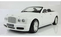 Бентли Bentley Azure 2006 Белый Minichamps 1:18 100139502, масштабная модель, scale18