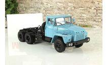 КрАЗ 252 (1979-90) седельный тягач голубой СССР НАП Наш Автопром 1:43 H779b, масштабная модель, scale43