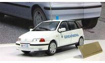 Фиат Fiat Punto SX Жандармерия Сан-Марино 1996 IXO Полицейские Машины Мира 1:43, масштабная модель, Полицейские машины мира, Deagostini, scale43
