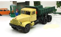 КрАЗ 256 Б (1966-69) желто-зеленый СССР НАП Наш Автопром 1:43 H771, масштабная модель, scale43