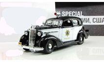 Бьюик Buick Special Полиция Калифорнии США 1938 IXO Полицейские Машины Мира 1:43, масштабная модель, 1/43, Полицейские машины мира, Deagostini