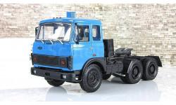 Маз 6422 седельный тягач (1981-85) синий СССР НАП Наш Автопром 1:43 H796