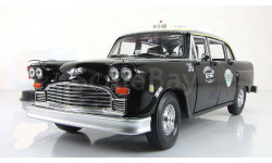 Чеккер Checker A11 Black Cab Taxi 1963 Такси Sunstar 1:18 2507