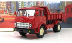 МАЗ 503 А самосвал красный 1970 СССР НАП Наш Автопром 1:43 H757R, масштабная модель, 1/43