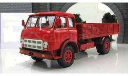 Маз 500 А бортовой красный 1970 СССР НАП Наш Автопром 1:43 H285R, масштабная модель, 1/43