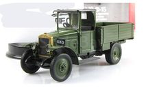 грузовик АМО Ф15 1924—1931 гг. темно-зеленый IXO IST Автолегенды СССР 1:43, масштабная модель, scale43, Автолегенды СССР журнал от DeAgostini