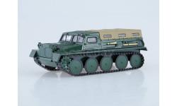 Гусеничный транспортёр снегоболотоход Газ ГТ-С 47 Автоистория 1:43