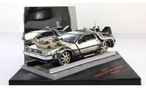 DMC Delorean фильм Назад в Будущее 3 Vitesse 1:43, масштабная модель, scale43