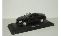 Лексус Lexus SC430 2004 Черный J-Collection 1:43, масштабная модель, scale43