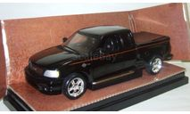 Форд Ford F150 Pick-up Double Cab 2000 Черный Ertl Harley Davidson Limited Edition 1:18, масштабная модель, 1/18, ERTL (Auto World)