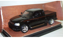 Форд Ford F150 Pick-up Double Cab 2000 Черный Ertl Harley Davidson Limited Edition 1:18, масштабная модель, 1/18, ERTL (Auto World)