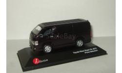 Тойота Toyota Hiace Super GL 2012 Черный J-Collection 1:43 JC263, масштабная модель, 1/43
