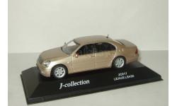 Лексус Lexus LS430 Золотистый J-Collection 1:43 JC017, масштабная модель, 1/43