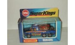 грузовик перевозчик Мотоциклов Хонда Honda Motor Cycle Transporter MATCHBOX Super Kings 1:43