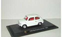 Фиат Fiat Abarth 1000 Berlina Corsa 1964 IXO Altaya 1:43 БЕСПЛАТНАЯ доставка, масштабная модель, scale43
