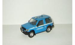 Мицубиси Mitsubishi Pajero SWB 4x4 1998 Полиция Италии 1998 IXO Altaya Полицейские машины Мира 1:43, масштабная модель, Полицейские машины мира, Deagostini, scale43