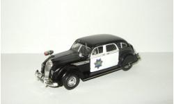 Крайслер Chrysler Airflow CRS 1936 Полиция Сан-Франциско США IXO Altaya Полицейские Машины Мира 1:43, масштабная модель, Полицейские машины мира, Deagostini, scale43