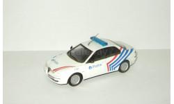 Альфа Ромео Alfa Romeo 156 Полиция Бельгии 1999 IXO Altaya Полицейские Машины Мира 1:43, масштабная модель, 1/43, Полицейские машины мира, Deagostini