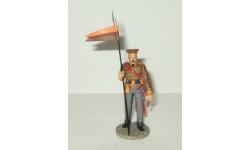 фигурка солдат Рядовой Ахтырского гусарского полка 1812 г № 68 Наполеоновские войны 1:32, фигурка, scale32