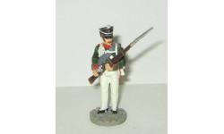 фигурка солдат Унтер офицер Архангелогородского пехотного полка 1812 г. № 44 Наполеоновские войны GE Fabbri 1:32, фигурка, scale32