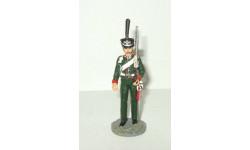 фигурка солдат Рядовой лейб гвардии конно егерского полка 1813 1814 № 40 Наполеоновские войны 1:32, фигурка, scale32