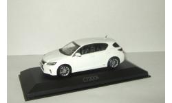 Лексус Lexus CT200h 2010 Белый Minichamps 1:43, масштабная модель, 1/43