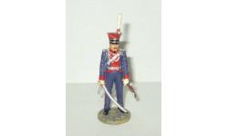 фигурка солдат Офицер Чугуевскго уланского полка 1812г. № 60 Наполеоновские войны GE Fabbri 1:32, фигурка, scale32