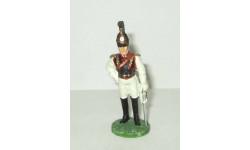 фигурка солдат Обер-офицер Лейб-гвардии Конного полка 1812 г. № 43 Наполеоновские войны GE Fabbri 1:32, фигурка, scale32