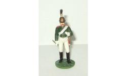 фигурка солдат Унтер офицер Конной артиллерии 1812 1813 гг. № 48 Наполеоновские войны GE Fabbri 1:32, фигурка, scale32