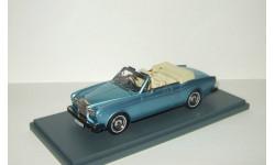 Роллс Ройс Rolls Royce Corniche Convertible 1977 Neo 1:43 NEO44190, масштабная модель, Neo Scale Models, Rolls-Royce, scale43