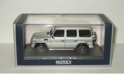 Мерседес Бенц Mercedes Benz G Classe (W463) 4x4 Гелендваген 2016 Серебристый металлик Norev 1:43 351333