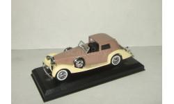 Деляж Delage Coupe De Ville 1939 Solido 1:43, масштабная модель, 1/43