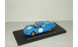 Рено Renault Alpine M63 prototype Equipe Interlagos 1963 Eligor 1:43