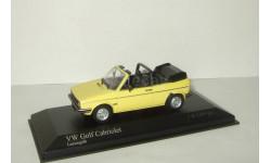 Фольксваген VW Volkswagen Golf Cabriolet 1980 Minichamps 1:43 400055130, масштабная модель, 1/43