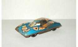 Игрушка автомобиль. Спортивный 2. Жесть. Cделано в СССР. 1980-е гг. 1:43, масштабная модель, scale43